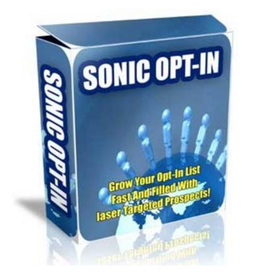 Product picture Sonic Optin Software With MRR!