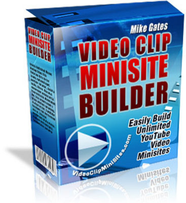 Product picture Video Clip Minisite Builder + MRR!