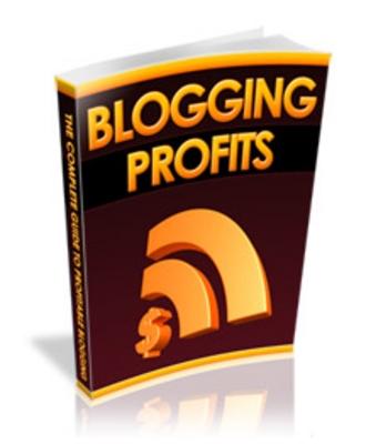 Product picture Blogging Profits